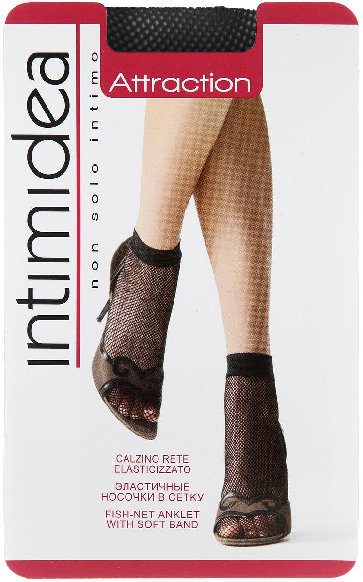 Носки женские Attraction ReteAttraction Rete NeroЭластичные женские носки Intimidea Attraction Rete выполнены из полиамида с добавлением эластана. Модель в сетку дополнена мягкой комфортной резинкой.