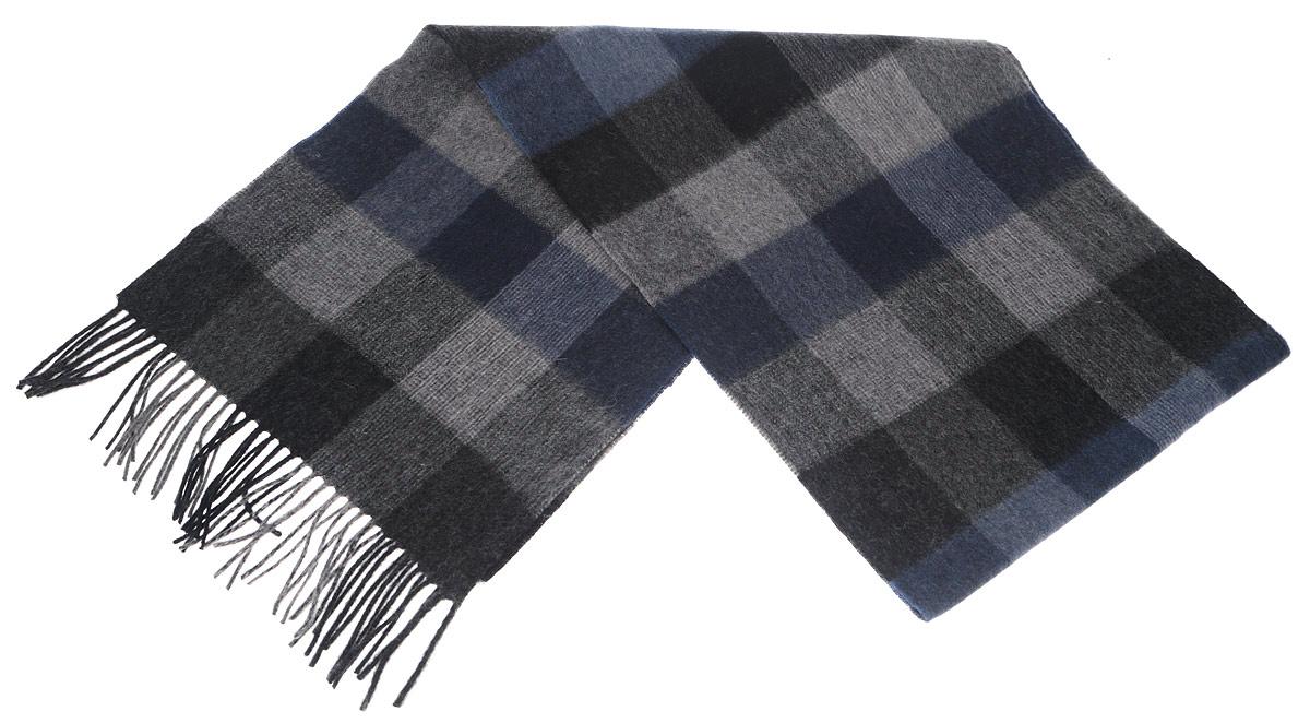 ШарфTH-21513-3Стильный шарф Paccia согреет вас в прохладную погоду и станет отличным завершением вашего образа. Шарф изготовлен из натуральной шерсти и оформлен оригинальным орнаментом. Материал мягкий и приятный на ощупь, хорошо драпируется. Края шарфа декорированы кисточками, скрученными в жгутики. Этот модный аксессуар гармонично дополнит любой наряд и подчеркнет ваш изысканный вкус.