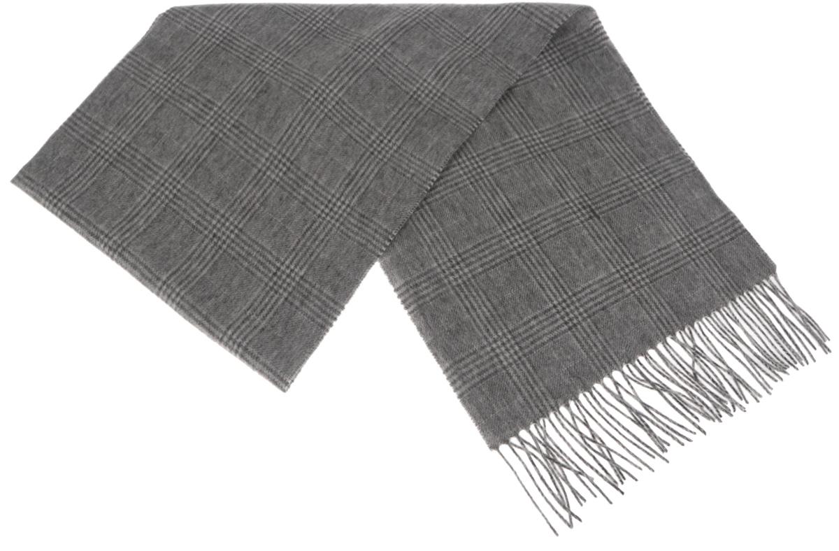TH-21519-13Стильный шарф Paccia согреет вас в прохладную погоду и станет отличным завершением вашего образа. Шарф изготовлен из натуральной шерсти и оформлен узором в клетку. Материал мягкий и приятный на ощупь, хорошо драпируется. Края шарфа декорированы кисточками, скрученными в жгутики. Этот модный аксессуар гармонично дополнит любой наряд и подчеркнет ваш изысканный вкус.