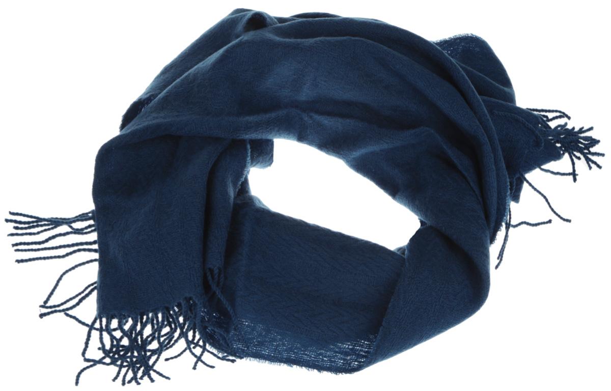 U42-5571Элегантный мужской шарф Eleganzza согреет вас в холодное время года, а также станет изысканным аксессуаром, который призван подчеркнуть ваш стиль и индивидуальность. Оригинальный и стильный шарф выполнен из высококачественной шерсти с добавлением кашемира и украшен длинной бахромой в виде жгутиков по краю. Такой шарф станет превосходным дополнением к любому наряду, защитит вас от ветра и холода, и позволит вам создать свой неповторимый стиль.