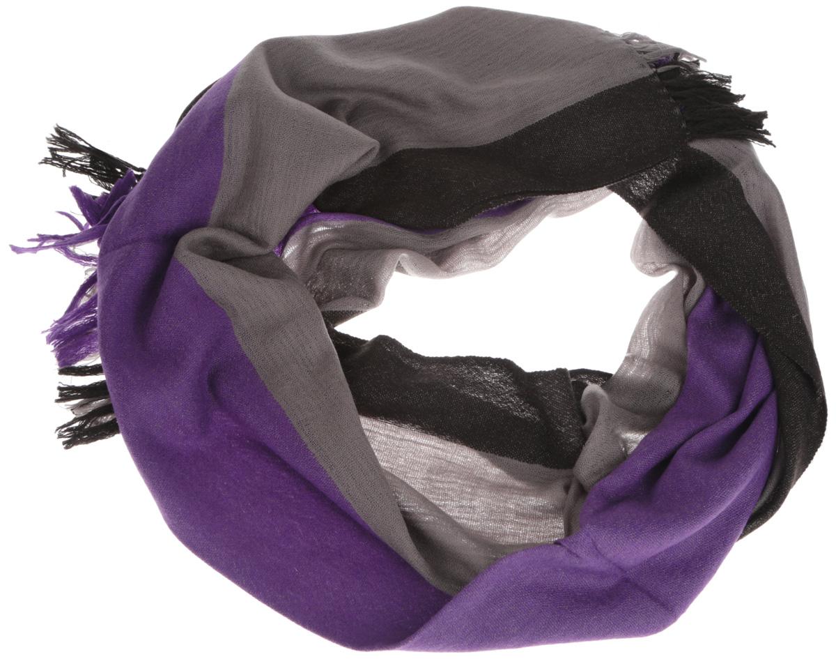 ШарфU41-1057Элегантный мужской шарф Eleganzza согреет вас в холодное время года, а также станет изысканным аксессуаром, который призван подчеркнуть ваш стиль и индивидуальность. Оригинальный и стильный шарф выполнен из высококачественной 100% шерсти, он оформлен широкими полосками и украшен длинными кистями по краю. Такой шарф станет превосходным дополнением к любому наряду, защитит вас от ветра и холода, и позволит вам создать свой неповторимый стиль.