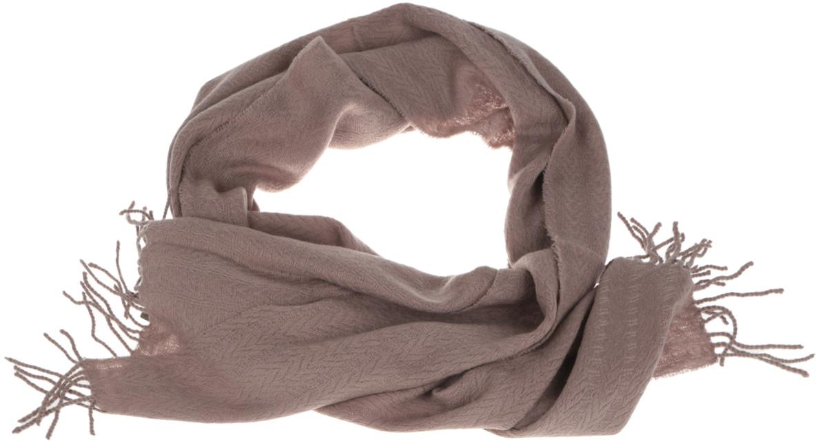 ШарфU42-5571Элегантный мужской шарф Eleganzza согреет вас в холодное время года, а также станет изысканным аксессуаром, который призван подчеркнуть ваш стиль и индивидуальность. Оригинальный и стильный шарф выполнен из высококачественной шерсти с добавлением кашемира и украшен длинной бахромой в виде жгутиков по краю. Такой шарф станет превосходным дополнением к любому наряду, защитит вас от ветра и холода, и позволит вам создать свой неповторимый стиль.