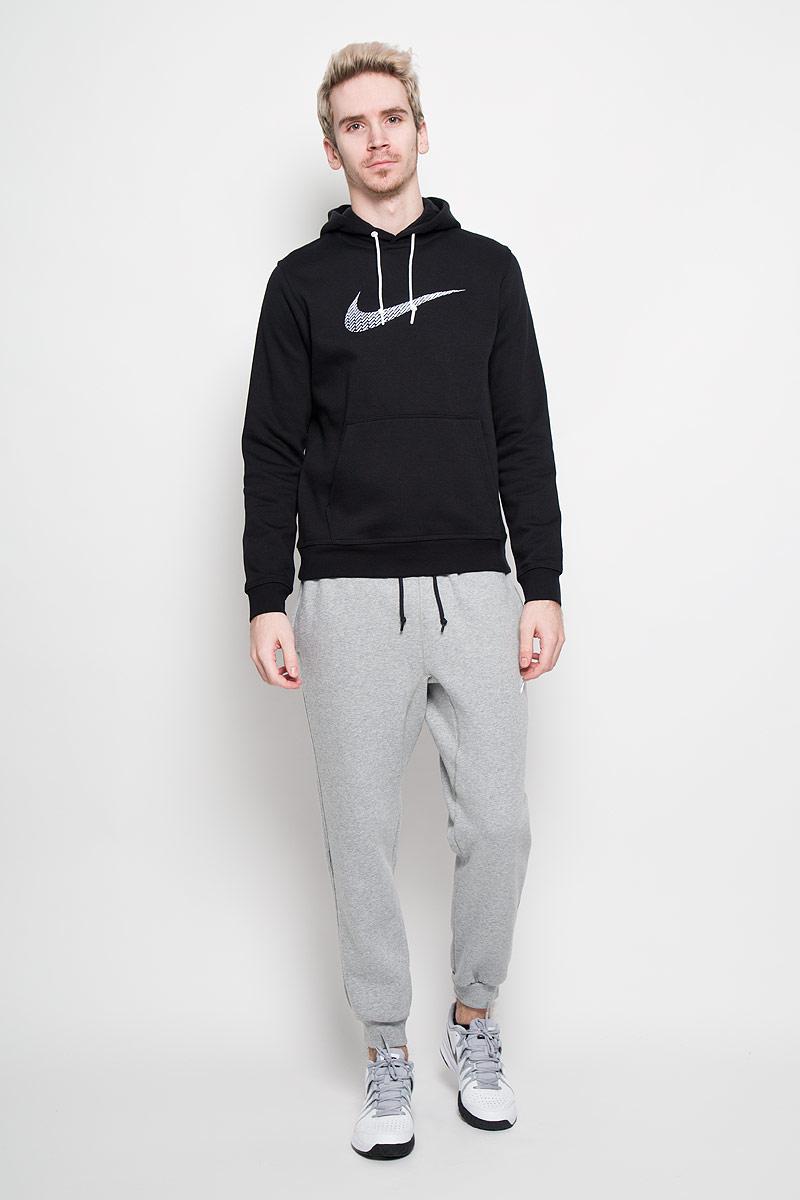 Толстовка мужская Nike Club FLC Hoody-Swoosh+. 679381