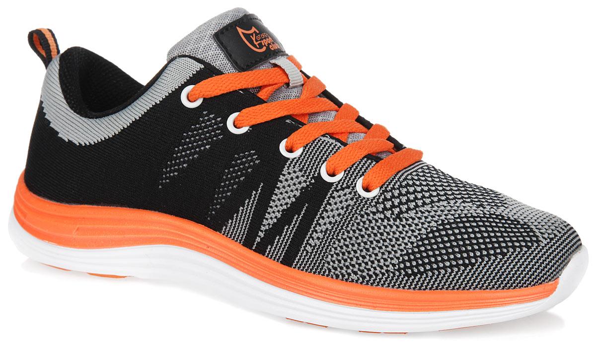 Кроссовки741011-72Стильные кроссовки от Котофей прекрасно подойдут для активного отдыха вашего мальчика. Модель выполнена из вязаного текстиля, позволяющего ногам дышать. Язычок оформлен фирменной нашивкой. Классическая шнуровка гарантирует удобство и надежно фиксирует модель на ноге. Стелька EVA с поверхностью из натуральной кожи дополнена супинатором, который обеспечивает правильное положение ноги ребенка при ходьбе, предотвращает плоскостопие. Подошва с протектором обеспечивает оптимальное сцепление с поверхностью. Ярлычок на заднике обеспечивает удобное обувание модели. Удобные кроссовки придутся по душе вам и вашему ребенку!