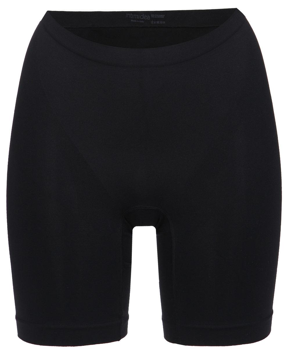 Intimidea Трусы-шорты женские корректирующие Silhouette, цвет: черный. 410135