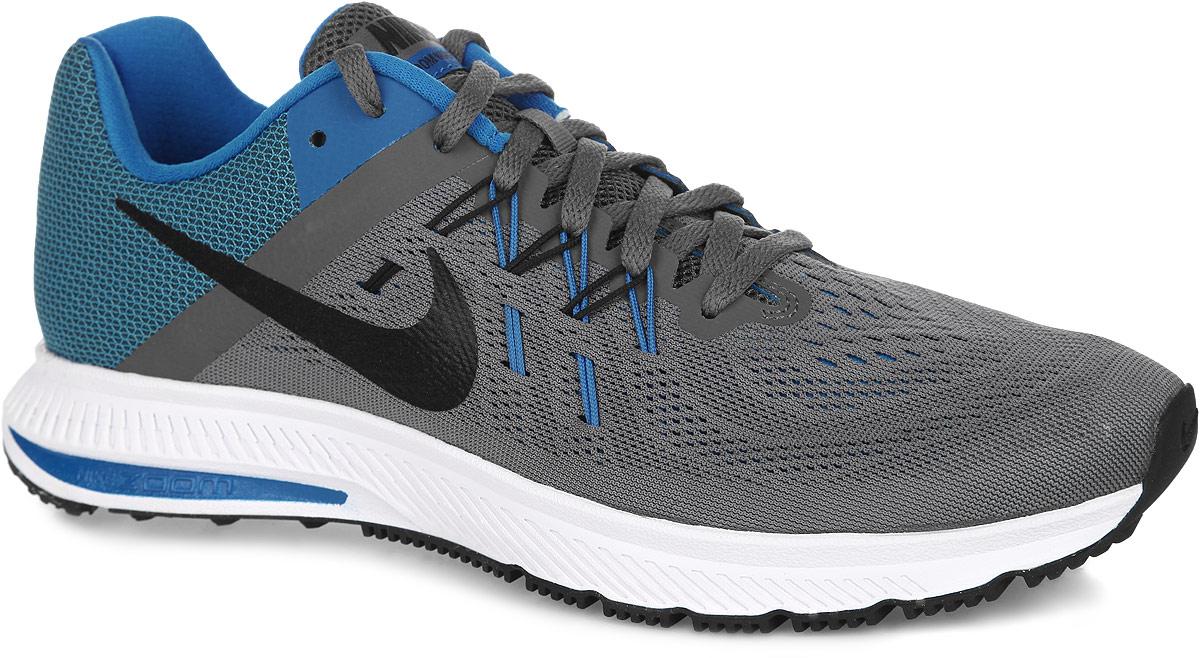 Nike Кроссовки для бега мужские WMNS Zoom Winflo 2. 807276-004