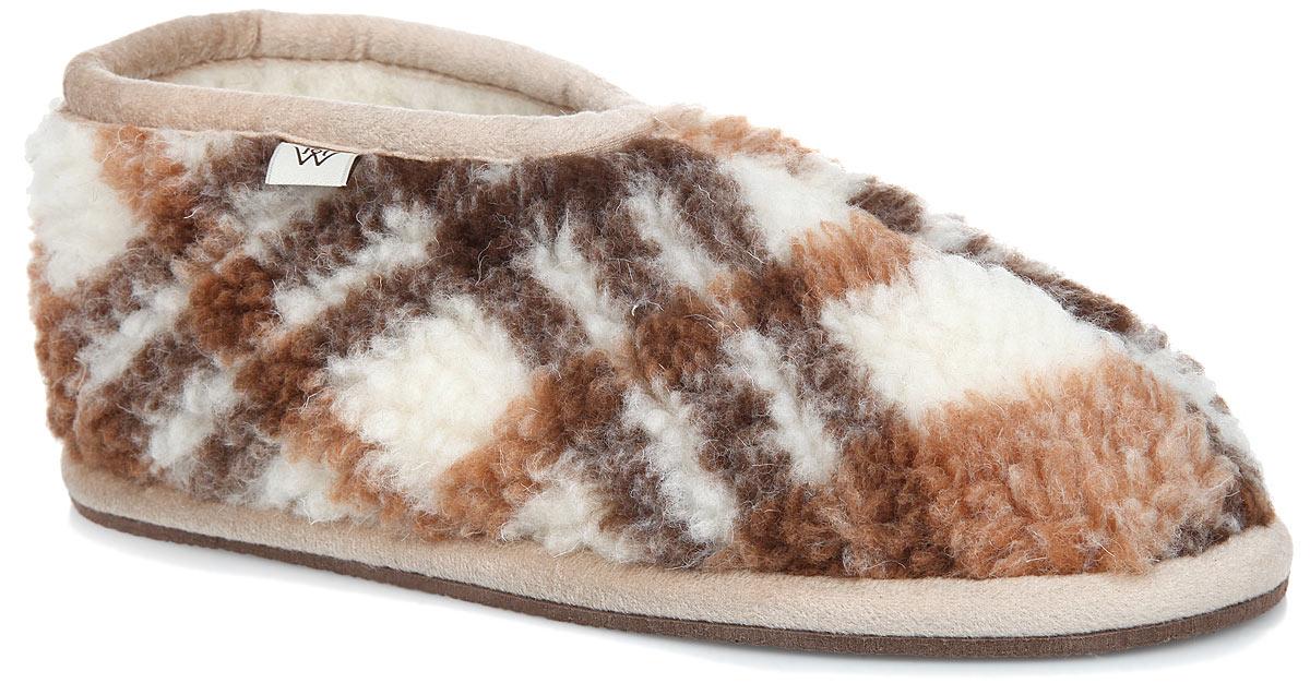 Бабуши. S.7.3.М.ТКS.7.3.М.ТККомфортные бабуши WoolHouse выполнены из натуральной мериносовой шерсти. Подошва, выполненная из EVA, не скользит по поверхности пола. Удобные, мягкие и легкие бабуши не дадут вашим ногам замерзнуть.
