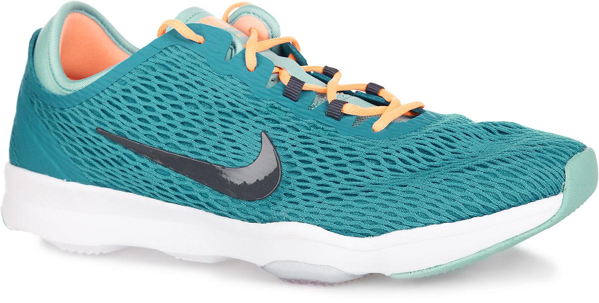 Кроссовки для бега женские WMNS Zoom Fit. 704658704658-402Женские кроссовки Nike WMNS Zoom Fit замечательно подойдут для фитнеса и кардиотренировок. Модель выполнена из бесшовного текстиля в виде легкой сетки с подкладкой из мягкой пены и дополнена вставками из искусственных материалов для лучше поддержки. Верх изделия оформлен классической шнуровкой, которая надежно зафиксирует обувь на ноге. По бокам и язычке, оформленным легкой перфорацией для лучшей воздухопроницаемости, кроссовки декорированы логотипом бренда. Подкладка и стелька, изготовленные из текстиля, гарантируют комфорт и уют. Модуль Zoom Air гарантирует непревзойденную защиту от ударных нагрузок. Подошва с протектором обеспечивает отличное сцепление с любой поверхностью.
