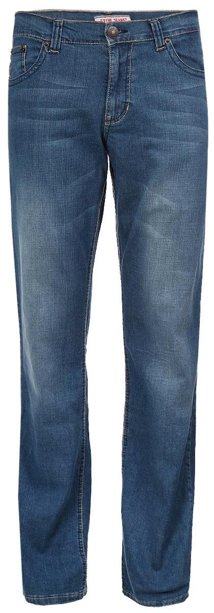 Джинсы мужские. 0930-M - F50930-MСтильные мужские джинсы F5 - джинсы высочайшего качества на каждый день, которые прекрасно сидят. Модель прямого кроя и средней посадки изготовлена из высококачественного плотного хлопка с небольшим добавлением спандекса. Джинсы не сковывают движения и дарят комфорт. Изделие оформлено тертым эффектом, перманентными складками и контрастной отстрочкой. Застегиваются джинсы на пуговицу в поясе и ширинку на застежке-молнии, имеются шлевки для ремня. Спереди модель оформлена двумя втачными карманами и одним небольшим секретным кармашком, а сзади - двумя накладными карманами. Эти модные и в тоже время комфортные джинсы послужат отличным дополнением к вашему гардеробу. В них вы всегда будете чувствовать себя уютно и комфортно.