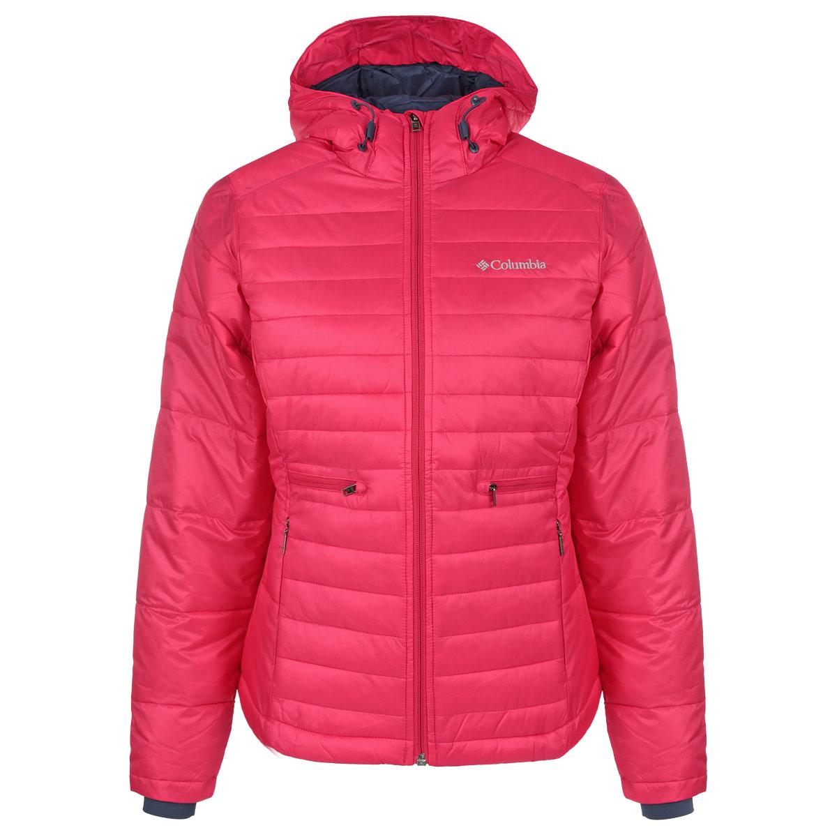 Куртка женская Powder PillowWL5437-639Великолепная женская куртка Columbia Powder Pillow с длинными рукавами и капюшоном согреет вас в прохладное время года. Куртка c водоотталкивающей пропиткой защитит вас от легкого дождя, снега и сохранит комфорт во время прогулки при температуре до -5°C. Куртка изготовлена из высококачественного материала. Модель застегивается на застежку-молнию спереди. Куртка дополнена четырьмя втачными карманами на молниях спереди, и одним внутренним карманом на липучке. Манжеты рукавов куртки оснащены мягкими эластичными вставками. Объем низа куртки и капюшона регулируется шнурками-кулисками. Эта модная и в то же время комфортная куртка - отличный вариант для прогулок, она подчеркнет ваш изысканный вкус и поможет создать неповторимый образ.