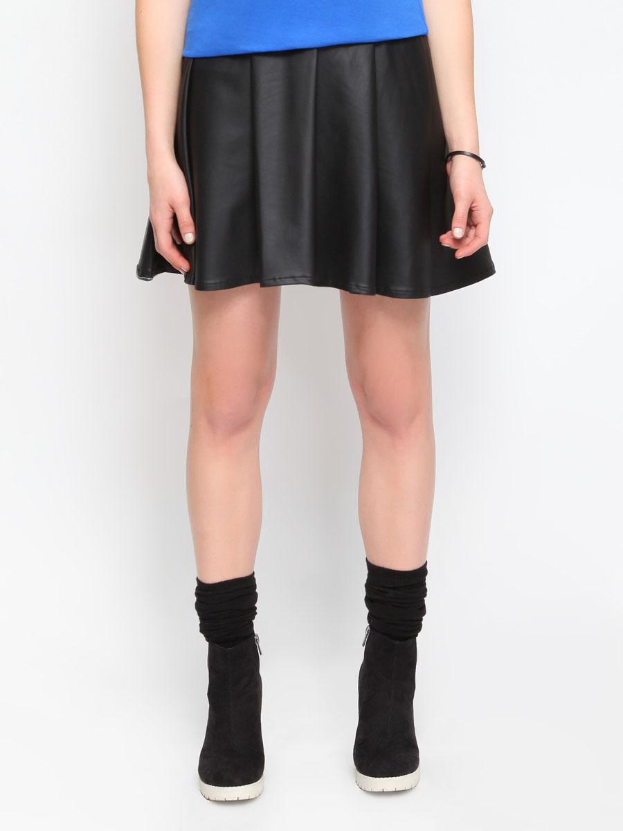 ЮбкаTSD0024CAS1Стильная юбка Troll изготовлена из полиэстера с добавлением эластана. Юбка расклешенного кроя. На поясе - широкая эластичная резинка. Эта модная и в тоже время комфортная юбка - отличный вариант на каждый день.
