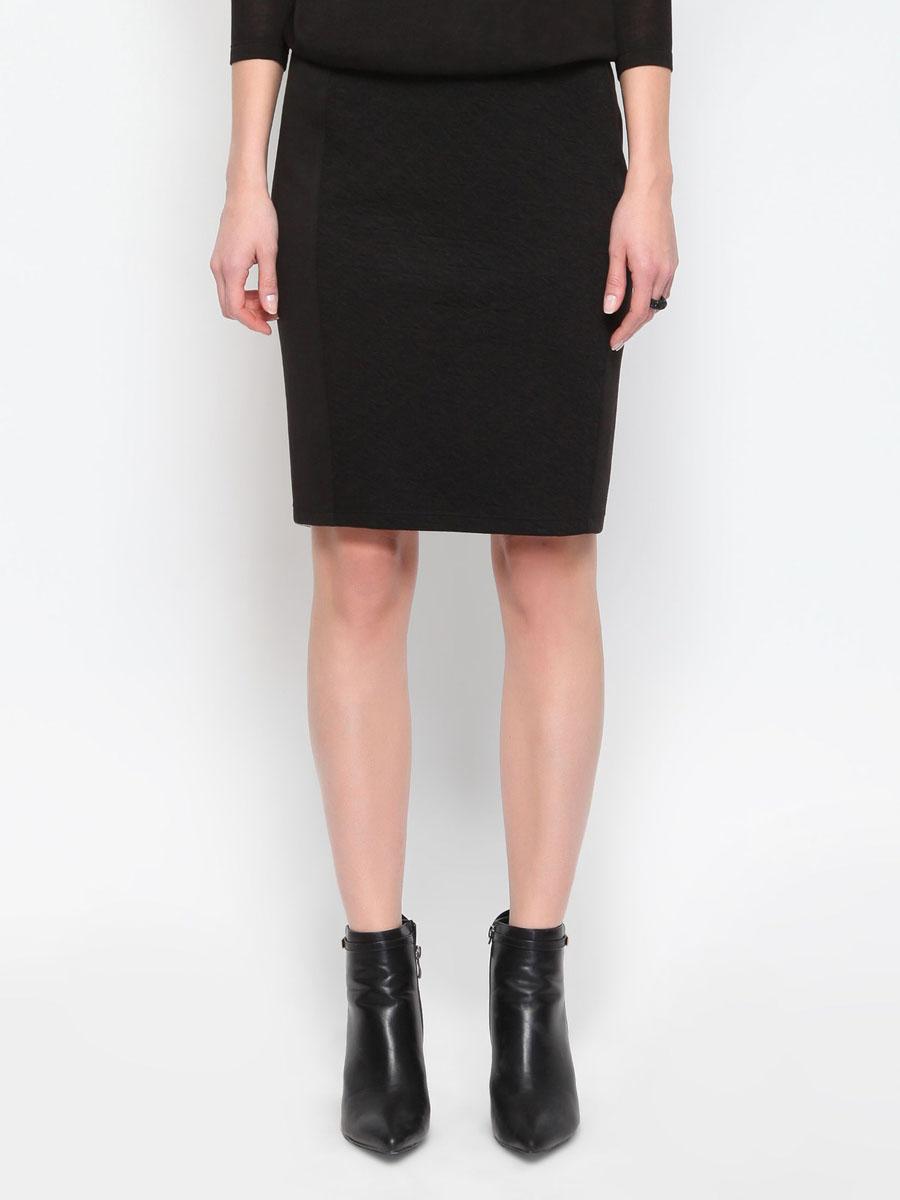 ЮбкаSSD0778CAСтильная юбка Top Secret изготовлена из эластичного материала, приятного на ощупь. Юбка-карандаш длины миди подчеркнет все достоинства вашей фигуры. Модель спереди и сзади оформлена вставкой из фактурного материала. Сзади на поясе юбка застегивается на металлическую молнию. Эта модная юбка - отличный вариант на каждый день.
