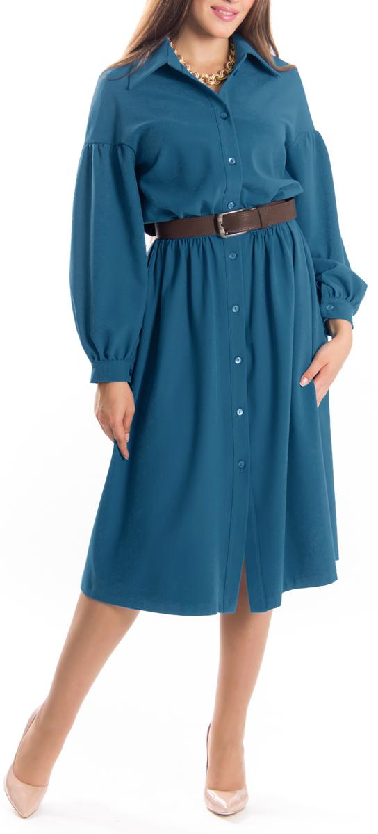 Платье657Элегантное платье Lautus изготовлено из высококачественного эластичного материала с добавлением вискозы. Такое платье обеспечит вам комфорт и удобство при носке. Модель с отложным воротником и длинными рукавами выгодно подчеркнет все достоинства вашей фигуры благодаря приталенному силуэту. Платье застегивается на пуговицы спереди. Манжеты рукавов также застегиваются на пуговицы. Изысканное платье-макси с пришивной юбкой создаст обворожительный и неповторимый образ. Это модное и удобное платье станет превосходным дополнением к вашему гардеробу, оно подарит вам удобство и поможет вам подчеркнуть свой вкус и неповторимый стиль.