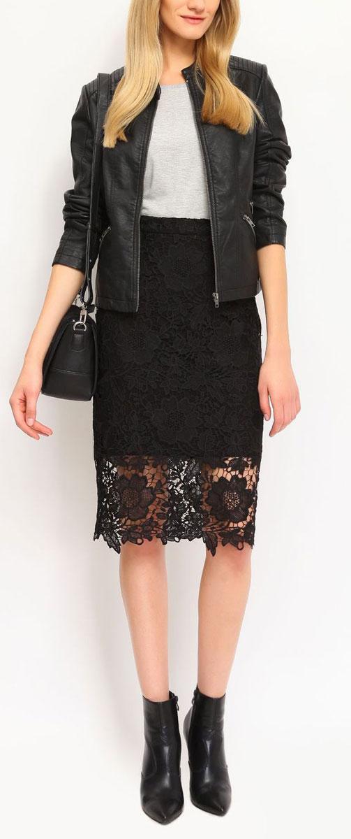 ЮбкаSSD0911CAЭффектная юбка Top Secret обеспечит вам комфорт и удобство при носке. Оригинальная юбка выполнена из ажурного кружевного материала и застегивается на потайную застежку-молнию сзади. Юбка имеет непрозрачный плотный подъюбник из эластичного материала на основе вискозы с добавлением полиамида. Модная юбка-миди выгодно освежит и разнообразит ваш гардероб. Создайте женственный образ и подчеркните свою яркую индивидуальность! Классический фасон и оригинальное оформление этой юбки сделают ваш образ непревзойденным.