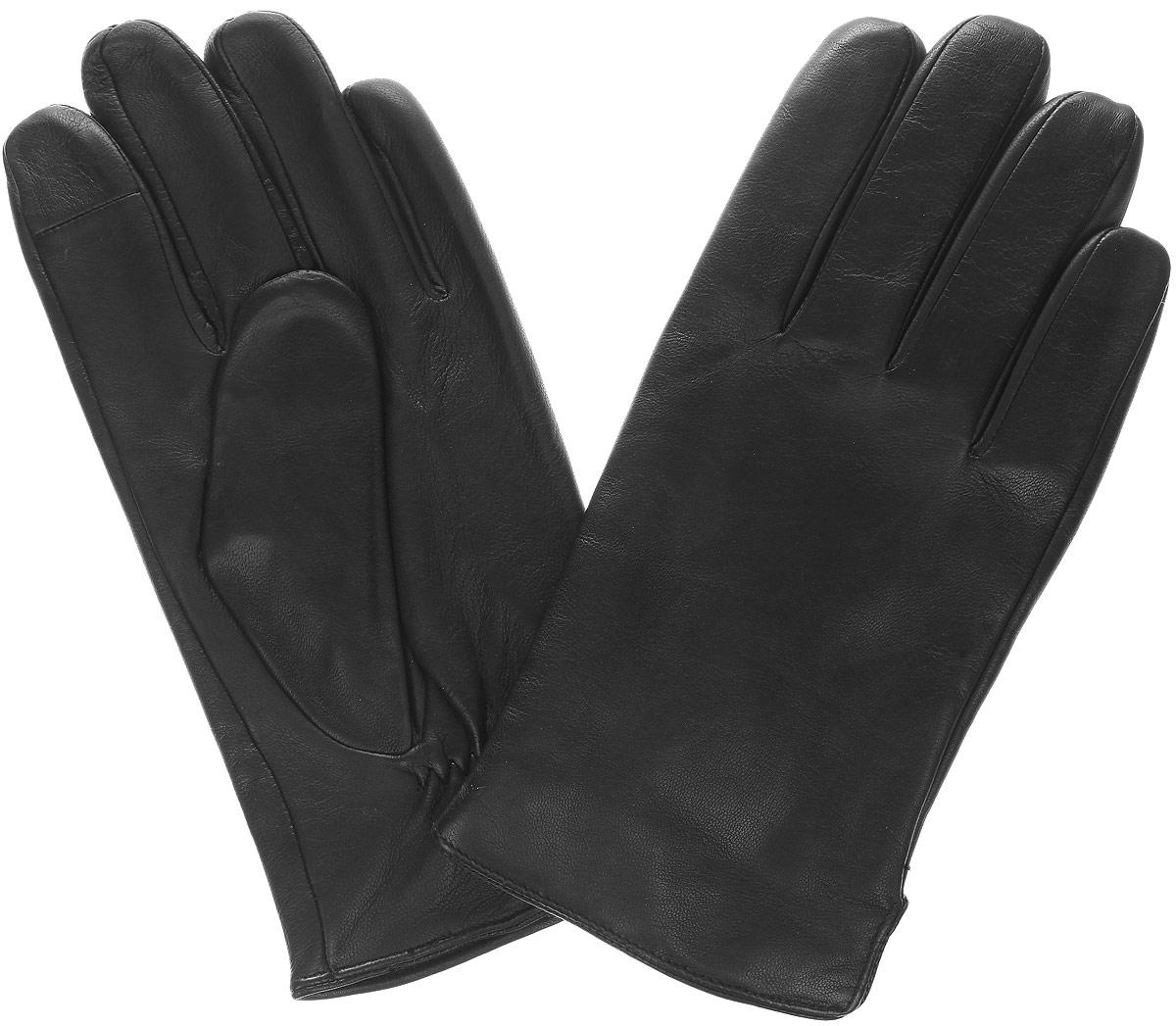 LB-PH-75LМужские перчатки Calvin Klein Jeans не только защитят ваши руки от холода, но и станут стильным аксессуаром. Перчатки выполнены из мягкой и приятной на ощупь овечьей кожи на подкладке из шерсти с добавлением нейлона. Манжеты с тыльной стороны присборены на небольшую резинку для лучшего прилегания к запястью. По бокам предусмотрены небольшие разрезы. Оформлено изделие пластиной с фирменным логотипом. Перчатки станут завершающим и подчеркивающим элементом вашего неповторимого стиля и индивидуальности.