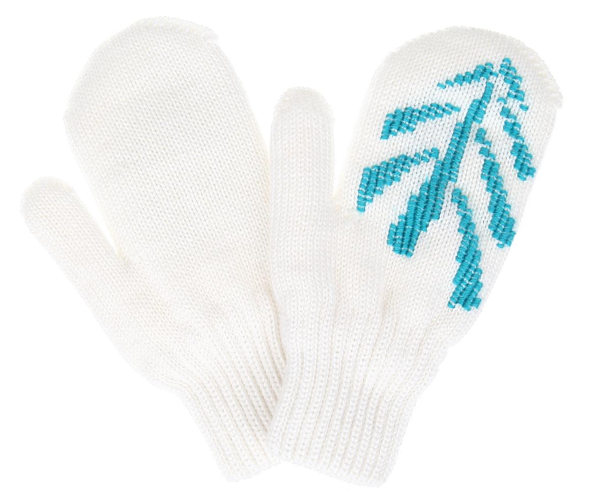Варежки для девочки. 50-12150-121Вязаные варежки для девочки Ёмаё идеально подойдут вашей маленькой принцессе для прогулок в прохладную погоду. Изготовленные из шерсти и акрила, они максимально сохраняют тепло, мягкие и приятные на ощупь, идеально сидят на руке. Модель дополнена широкими эластичными манжетами, не стягивающими запястья и надежно фиксирующими их на руках ребенка. Изделие украшено вышитым рисунком. В таких варежках ваш ребенок будет чувствовать себя тепло, уютно и комфортно.