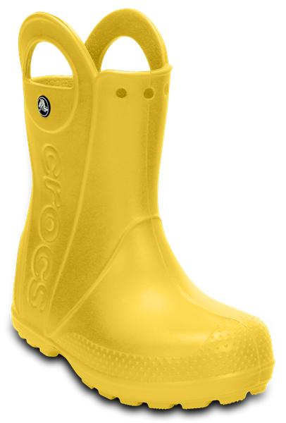 Полусапоги детские. 12803-73012803-730Теперь даже в самую ненастную погоду дети могут продолжать радоваться играм на свежем воздухе. Яркие непромокаемые сапоги Crocs сохранят ножки вашего ребенка теплыми и сухими. Устойчивые, но невероятно легкие, мягкие и удобные благодаря материалу Croslit