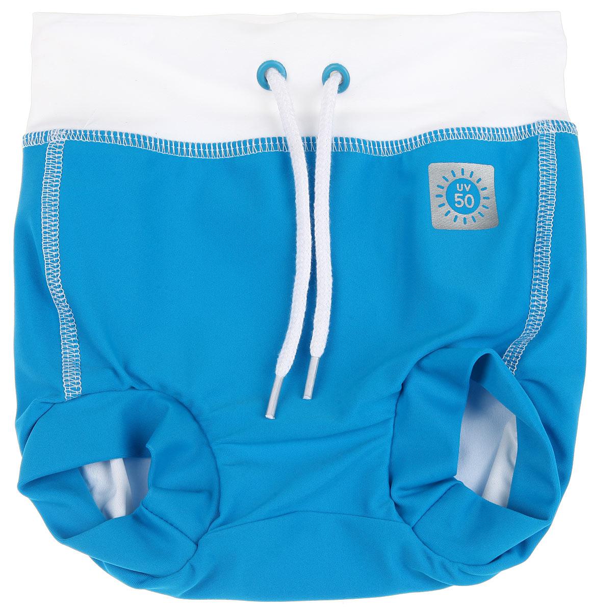 Плавки-шорты для новорожденного Swimming Trunks. 582018582018_2310Плавки-шорты для новорожденного Reima Swimming Trunks предназначены для веселого и беззаботного купания вашего ребенка. Плавки под подгузник изготовлены из высококачественного материала с УФ-фильтром 50+, что обеспечивает эффективную защиту от вредных солнечных лучей. Модель подходит как для бассейна, так и для пляжа. Плотная посадка по ногам и на поясе вместе с непромокаемой подкладкой из 100% полиэстера оградят от неприятных сюрпризов. Эластичный пояс можно регулировать для большего удобства и хорошей подгонки по фигуре. Такие плавки-шорты идеально подойдут для вашего ребенка!
