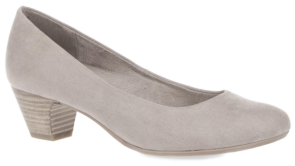 Туфли женские. 2-2-2232-2-22303-25-001Оригинальные женские туфли от Marco Tozzi займут достойное место в коллекции вашей обуви. Модель изготовлена из высококачественного текстиля. Невероятно мягкая стелька с памятью, выполненная из искусственной кожи, и подкладка из текстиля обеспечат максимальный комфорт при движении. Закругленный носок добавит женственности в ваш образ. Умеренной высоты каблук, стилизованный под дерево, устойчив. Подошва с рельефным протектором не скользит. В таких туфлях вашим ногам будет уютно и комфортно! Они прекрасно дополнят ваш повседневный образ.