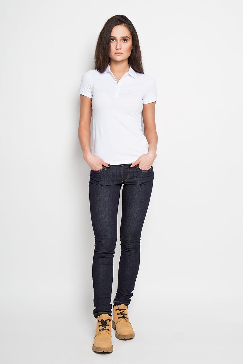 Джинсы женские. 00S54P-0813C00S54P-0813CСтильные женские джинсы Diesel - джинсы высочайшего качества, которые прекрасно сидят. Джинсы Diesel созданы специально для того, чтобы подчеркивать достоинства вашей фигуры. Джинсы облегающего кроя с низкой посадкой - отличный выбор для создания динамичного городского образа. Застегиваются джинсы на пуговицу в поясе и ширинку на застежке-молнии, имеются шлевки для ремня. Спереди модель оформлены двумя втачными карманами и одним небольшим секретным кармашком, а сзади - двумя накладными карманами. Оформлены джинсы контрастной отстрочкой и фирменной нашивкой в сзади на поясе. Эти модные и в тоже время комфортные джинсы послужат отличным дополнением к вашему гардеробу. В них вы всегда будете чувствовать себя уютно и комфортно.