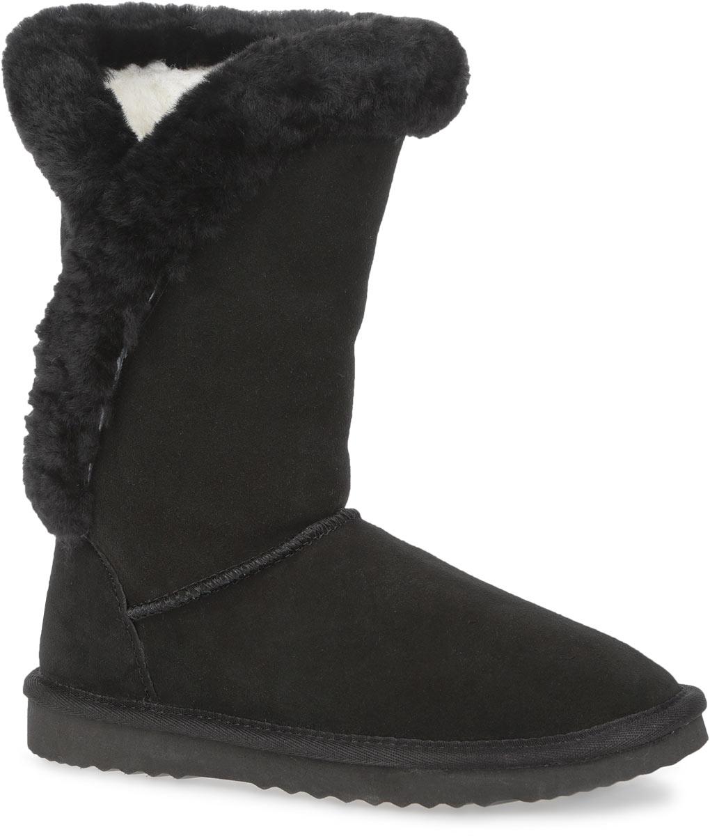 Угги женские. 59275927Стильные угги от Snow Paw заинтересуют вас своим дизайном с первого взгляда! Модель выполнена из натурального износоустойчивого спилка и дополнена фактурными швами по верху. По канту и сбоку обувь оформлена натуральным мехом. Подкладка и стелька - из теплой натуральной шерсти, защитят ноги от холода и обеспечат комфорт. Задник дополнен нашивкой с символикой бренда. Ширина голенища компенсирует отсутствие застежек. Подошва с рельефным протектором обеспечивает отличное сцепление с поверхностью. В таких уггах вашим ногам будет уютно и комфортно! Они прекрасно дополнят ваш повседневный образ.