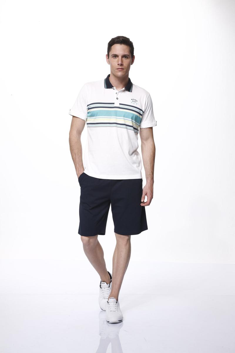 Relax Mode Комплект мужской: футболка-поло, шорты. 35438