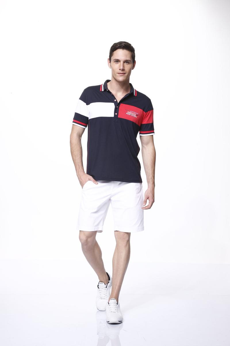 Комплект мужской: футболка-поло, шорты. 3545335453Мужской комплект Relax Mode, состоящий из футболки-поло и шорт, подарит вам неповторимую индивидуальность. Комплект, выполненный из высококачественных материалов, оформлен в контрастном цвете. Поло с короткими рукавами и отложным воротником на груди застегивается на пять пуговиц. Рукава дополнены трикотажными эластичными резинками, на груди расположен принт в виде различных надписей. Классический покрой, лаконичный дизайн. Отличные мужские шорты прямого кроя и стандартной посадки с ширинкой на застежке-молнии, на талии застегиваются на металлические пуговицы, имеются шлевки для ремня. Спереди модель дополнена двумя врезными карманами. Такой комплект создан для тех, кто предпочитает комфорт, практичность и современный дизайн.