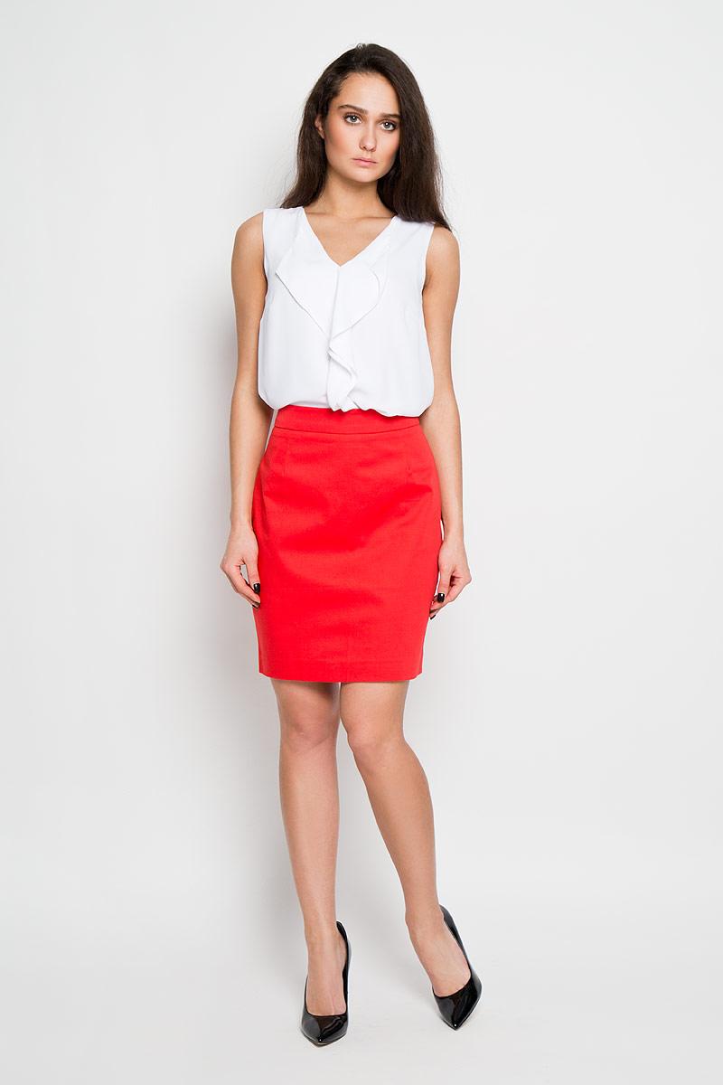 ЮбкаSK-118/807-6171Стильная юбка-карандаш Sela выполнена из высококачественного материала. Юбка сзади застегивается на потайную застежку-молнию и имеет небольшой разрез для наибольшего комфорта. Элегантная юбка выгодно освежит и разнообразит любой гардероб. Создайте женственный образ и подчеркните свою яркую индивидуальность!