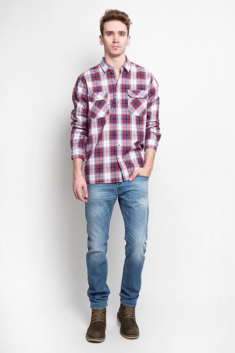 Sela Рубашка мужская. H-212/661-6152