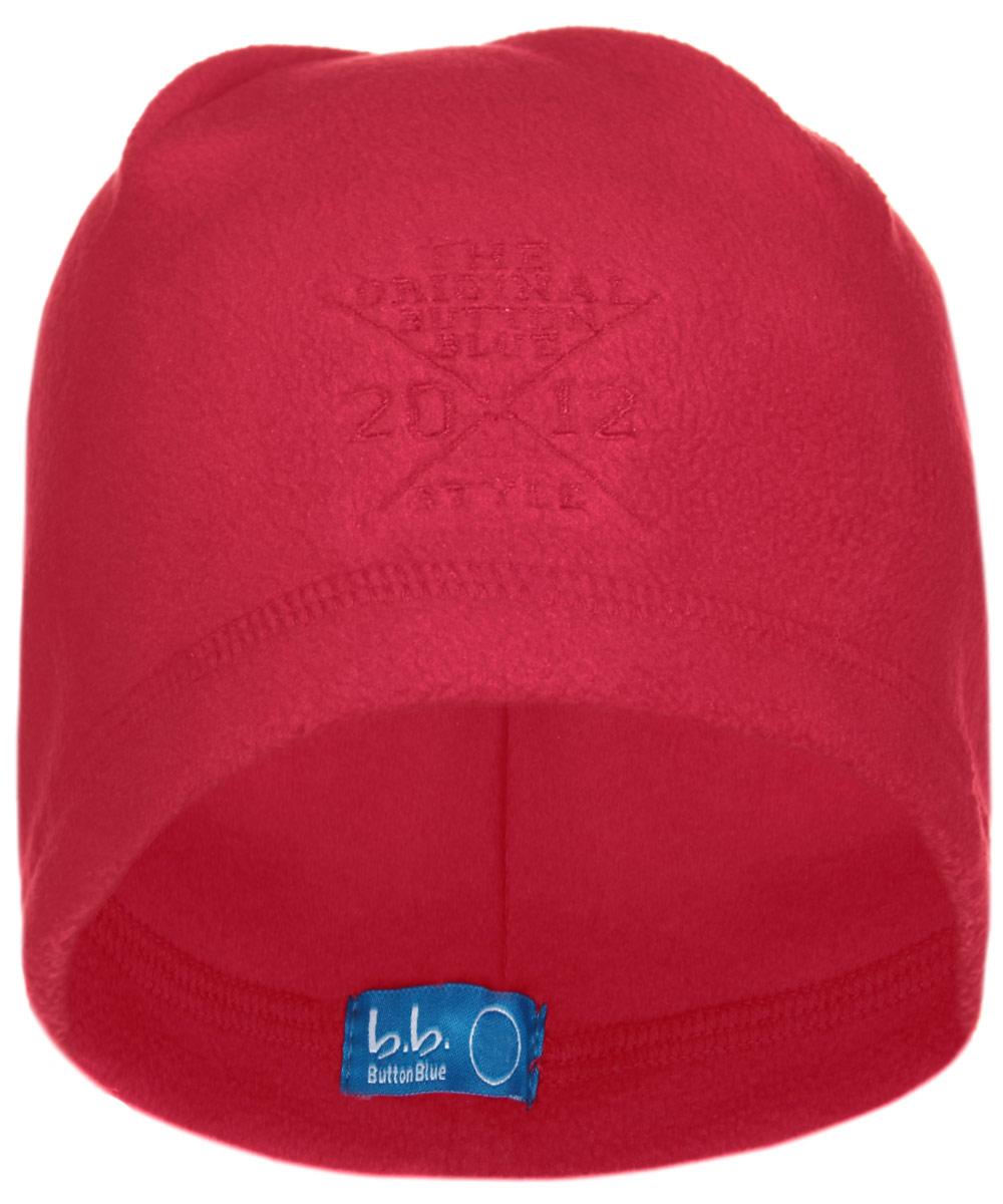 116BBBB7308Стильная флисовая шапка для мальчика Button Blue идеально подойдет для прогулок в прохладное время года. Изготовленная из высококачественного полиэстера, она необычайно мягкая и легкая, не раздражает нежную кожу ребенка и хорошо вентилируется. Шапка оформлена небольшой вышивкой с надписью The Original Button Blue Style 2012. Такая шапка станет модным и стильным предметом детского гардероба. Она улучшит настроение даже в хмурые прохладные дни! Уважаемые клиенты! Размер, доступный для заказа, является обхватом головы ребенка.