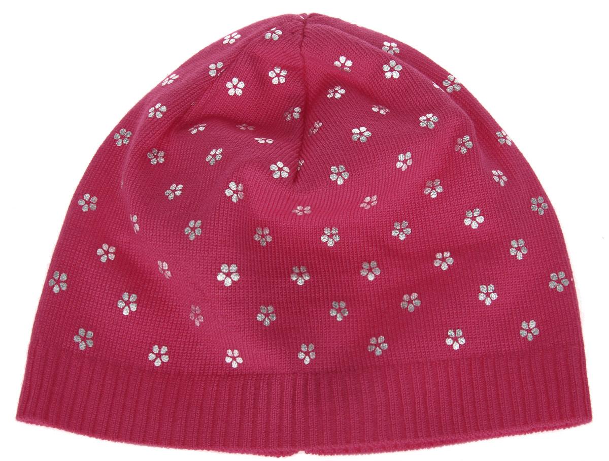 Шапка для девочки. 116BBGB7306116BBGB7306Стильная теплая шапка для девочки Button Blue идеально подойдет для прогулок и активных игр в прохладное время года. Шапка выполнена из вискозы с добавлением нейлона, она невероятно мягкая и приятная на ощупь, великолепно тянется и удобно сидит. Такая шапочка великолепно дополнит любой наряд. Шапка украшена принтом в мелкий цветочек. Удобная шапка станет модным и стильным дополнением гардероба вашей маленькой принцессы, надежно защитит ее от холода и ветра, и поднимет ей настроение даже в пасмурные дни! Уважаемые клиенты! Размер, доступный для заказа, является обхватом головы.