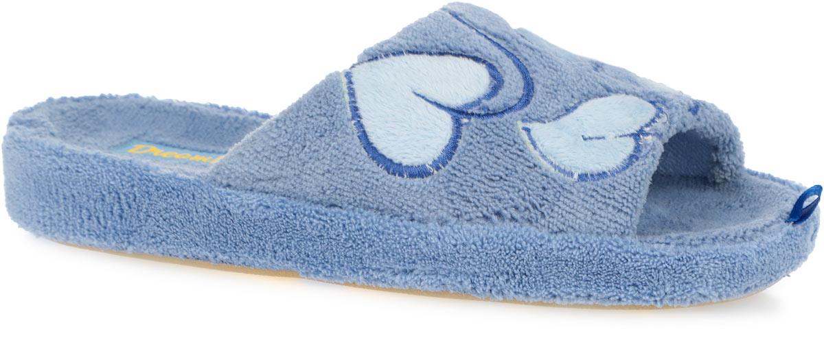 Тапки женские. SD-02SD-02/GREENОчень комфортные женские тапки Dream Feet выполнены из мягкого и приятного текстиля. Внешняя сторона тапок оформлена нашивками в виде сердечек. Такие тапки помогут отдохнуть вашим ножкам после трудового дня. Утолщенная подошва с рельефным протектором обеспечивает сцепление с любыми поверхностями. Необыкновенно легкие тапочки не теряют формы, а подошва не деформируется даже после стирки в машинке. Благодаря сочетанию испанской традиции производства и интересного дизайна тапки Dream Feet позволят достичь ощущения абсолютного комфорта, и будут прекрасно смотреться с домашним халатом или мягким домашним костюмом.