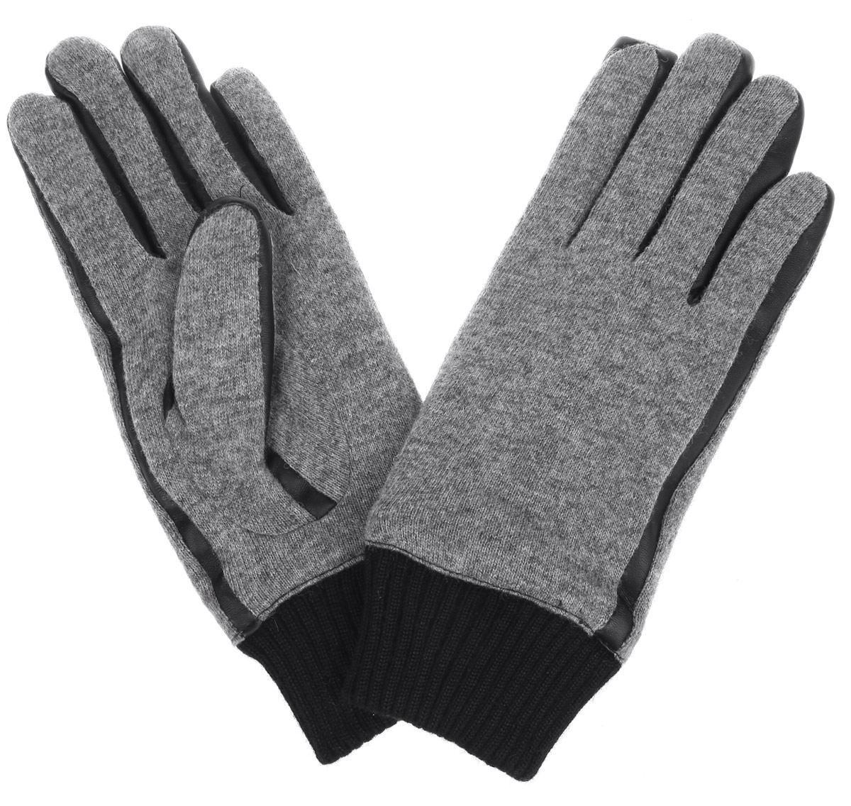 Перчатки мужские. 0219595.00.120219595.00.12Элегантные вязаные мужские перчатки Tom Tailor Denim станут великолепным дополнением вашего образа и защитят ваши руки от холода и ветра во время прогулок. Перчатки выполнены из шерсти с добавлением полиамида и вставками из полиуретана, и имеют подкладку из полиэстера, что позволяет им надежно сохранять тепло. Модель дополнена трикотажной резинкой на запястье. Такие перчатки будут оригинальным завершающим штрихом в создании современного модного образа, они подчеркнут ваш изысканный вкус и станут незаменимым и практичным аксессуаром.