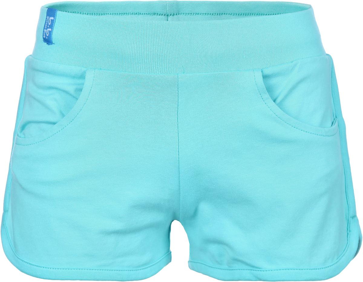 Шорты для девочки. 116BBGB5404116BBGB5404Стильные шорты для девочки Button Blue идеально подойдут для активного отдыха и прогулок. Изготовленные из эластичного хлопка, они необычайно мягкие и приятные на ощупь, не сковывают движения малышки и позволяют коже дышать, не раздражают даже самую нежную и чувствительную кожу ребенка, обеспечивая наибольший комфорт. Короткие шортики имеют широкую эластичную резинку на поясе. С внутренней стороны пояс регулируется шнурком-кулиской. Спереди модель дополнена двумя втачными кармашками. Оригинальный современный дизайн и модная расцветка делают эти шорты модным и стильным предметом детского гардероба. В них ваша малышка всегда будет в центре внимания!