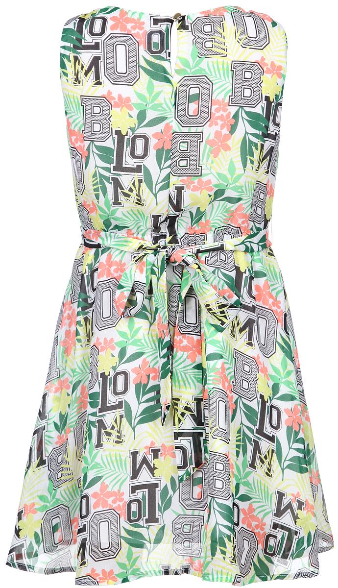 Button Blue Платье для девочки. 116BBGB2504