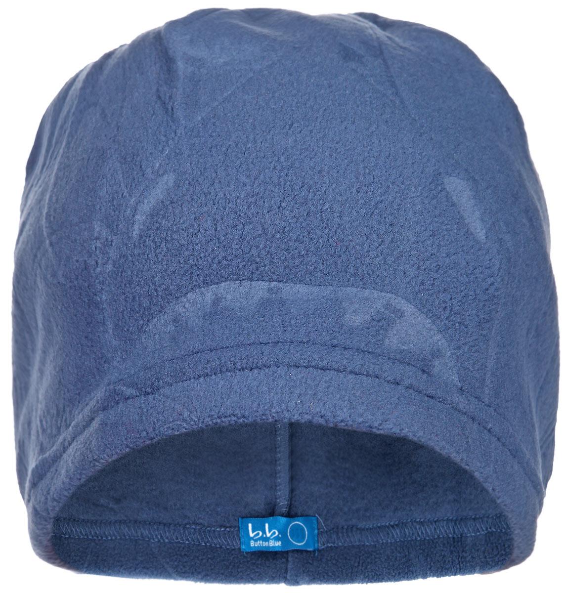 Шапка для мальчика. 116BBBB7307116BBBB7307Шапка для мальчика Button Blue отлично подойдет для прогулок в прохладное время года. Изделие, изготовленное из мягкого флиса, максимально сохраняет тепло, плотно прилегает к голове ребенка. Модель оформлена фактурным принтом с изображением акул. Современный дизайн и расцветка делают эту шапку модным и стильным предметом детского гардероба. В ней ребенку будет уютно и комфортно. Уважаемые клиенты! Размер, доступный для заказа, является обхватом головы.