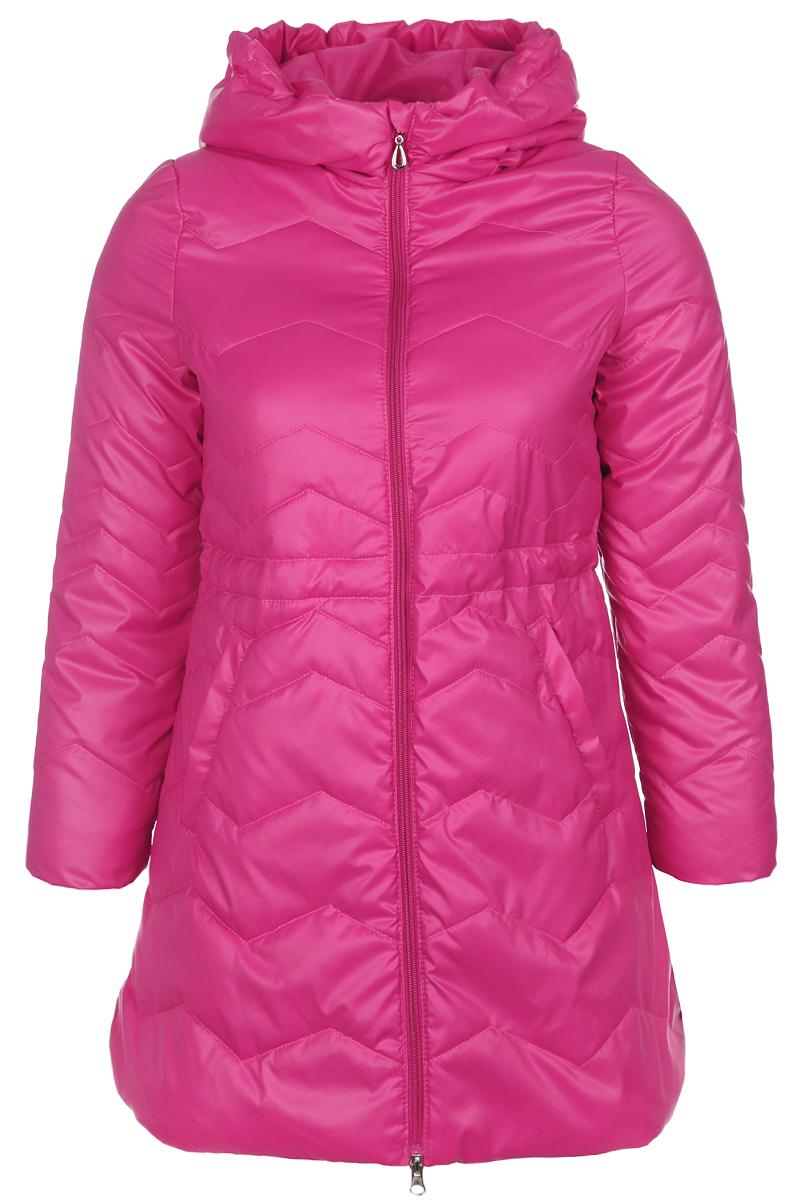 Куртка для девочки. 63575_BOG_вариант 263575_BOG_вариант 2Удлиненная куртка для девочки Boom! станет ярким и стильным дополнением к детскому гардеробу. Изделие изготовлено из водонепроницаемой и ветрозащитной ткани. Материал приятный на ощупь, позволяет коже дышать, легко стирается, быстро сушится. Подкладка выполнена из полиэстера и вискозы. В качестве утеплителя используется Flexy Fiber, который максимально сохраняет тепло. Модель с капюшоном застегивается на пластиковую застежку-молнию с защитой подбородка. Капюшон не отстегивается, дополнен по краю скрытой резинкой со стопперами. Спереди расположены два втачных кармана. Длину рукава можно увеличить на один размер, распустив специальные швы на подкладке. Благодаря этой функции изделие растет вместе с ребенком. Модель дополнена светоотражающим элементом для безопасности в темное время суток. Теплая, удобная и практичная куртка идеально подойдет юной моднице для прогулок!
