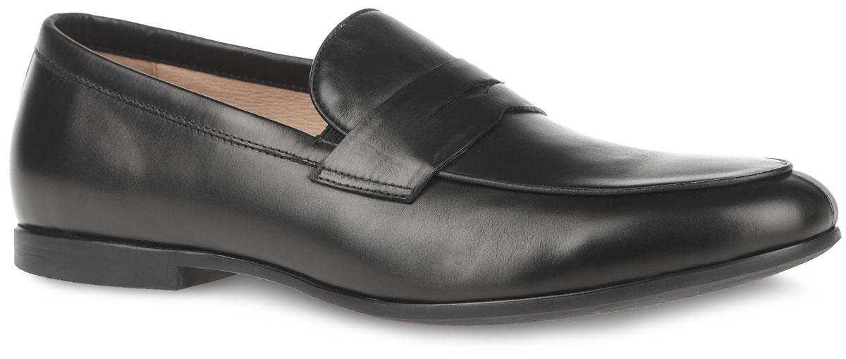 Туфли мужские. M23405M23405Изысканные мужские туфли от Vitacci отлично дополнят ваш деловой образ. Модель выполнена из натуральной высококачественной кожи и оформлена декоративным ремешком. Эластичные вставки, расположенные по бокам, обеспечат оптимальную посадку модели на ноге. Стелька и подкладка из натуральной кожи комфортны при движении. Низкий каблук и подошва с рифлением гарантируют отличное сцепление с любыми поверхностями. Стильные туфли займут достойное место среди вашей коллекции обуви.