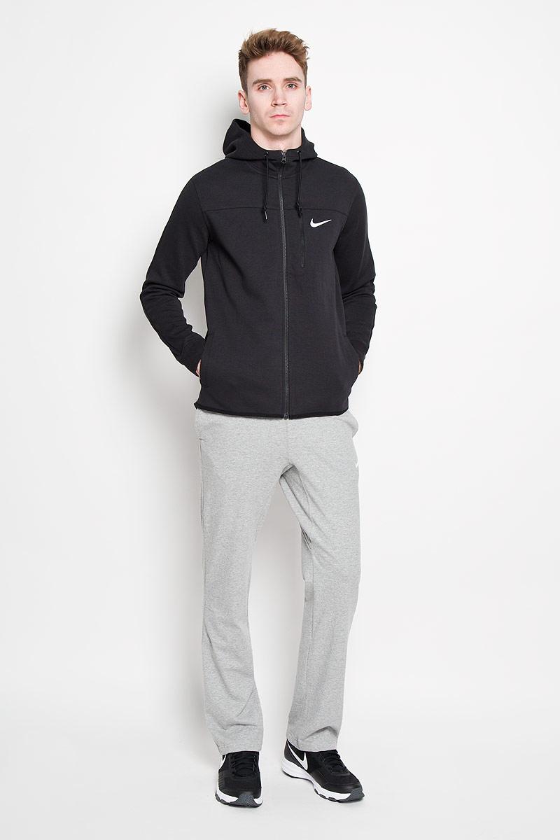 Толстовка мужская AV15 FLC FZ HDY. 727569-010727569-010Толстовка мужская Nike AV15 FLC FZ HD, выполнена из хлопка с добавлением полиэстера, идеально подойдет для повседневной носки. Материал очень мягкий и приятный на ощупь, не сковывает движения и позволяет коже дышать. Модель с капюшоном и длинными рукавами застегивается на полноразмерную застежку-молнию. Рукава с лицевой стороны толстовки выполнены стандартным кроем, а на спинке - выкроены регланом. На капюшоне с кулисой предусмотрена сетчатая подкладка. Манжеты рукавов с эластичной резинкой, что обеспечивает удобное прилегание к телу. Кромка изделия обработана окантовкой. На груди расположен прорезной карман на скрытой застежке-молнии, предусмотрены передние прорезные карманы. Спинка толстовки имеет актуальное удлинений и закругленный край. Термоаппликация логотипа Nike на груди создает стильный образ. Такая модель станет отличным дополнением к вашему гардеробу, в ней вам будет удобно и комфортно.
