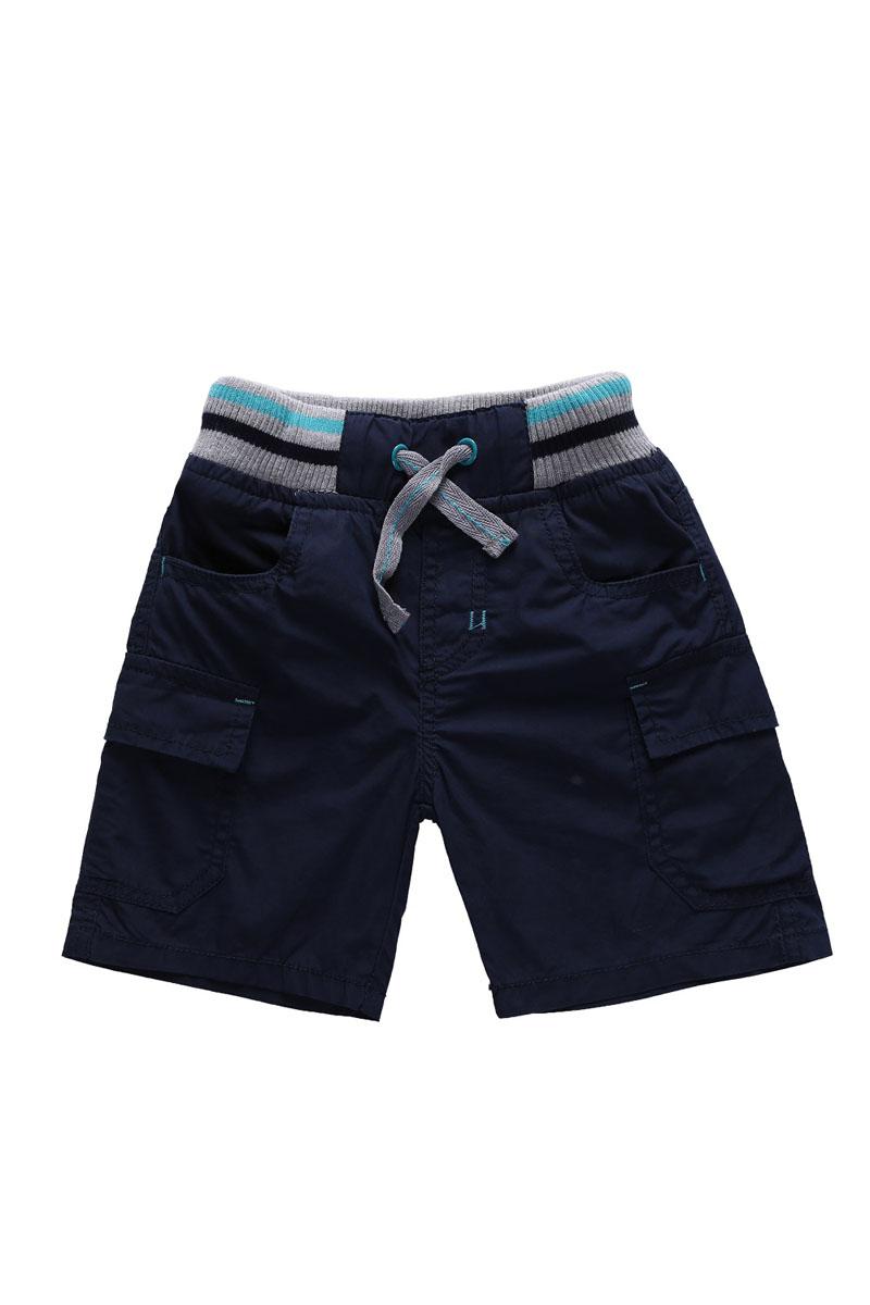 Шорты для мальчика. 196125196125Стильные шорты для мальчика Sweet Berry Baby идеально подойдут маленькому моднику и станут отличным дополнением к детскому гардеробу. Шорты выполнены из натурального хлопка, не сковывают движения и позволяют коже дышать, обеспечивая наибольший комфорт. Шорты на талии имеют широкую эластичную резинку, регулируемую шнурком. Спереди изделие дополнено двумя втачными карманами с косыми срезами, по бокам - двумя накладными карманами с клапанами. В таких стильных шортах ваш маленький мужчина будет чувствовать себя комфортно и всегда будет в центре внимания!