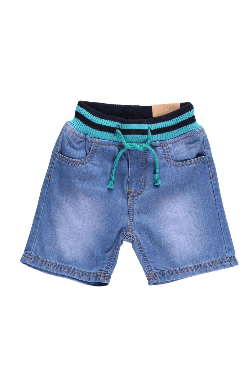 Шорты для мальчика. 196124196124Джинсовые шорты на резинке с регулировкой шнурком по поясу Джинсовые шорты для мальчика Sweet Berry Baby идеально подойдут маленькому моднику и станут отличным дополнением к детскому гардеробу. Шорты выполнены из натурального хлопка, не сковывают движения и позволяют коже дышать, обеспечивая наибольший комфорт. Шорты на широкой эластичной резинке с регулировкой шнурком по поясу. Спереди расположены два втачных кармана, сзади - два накладных кармана. Оформлено изделие контрастной отстрочкой. В таких стильных шортах ваш маленький мужчина будет чувствовать себя комфортно и всегда будет в центре внимания!