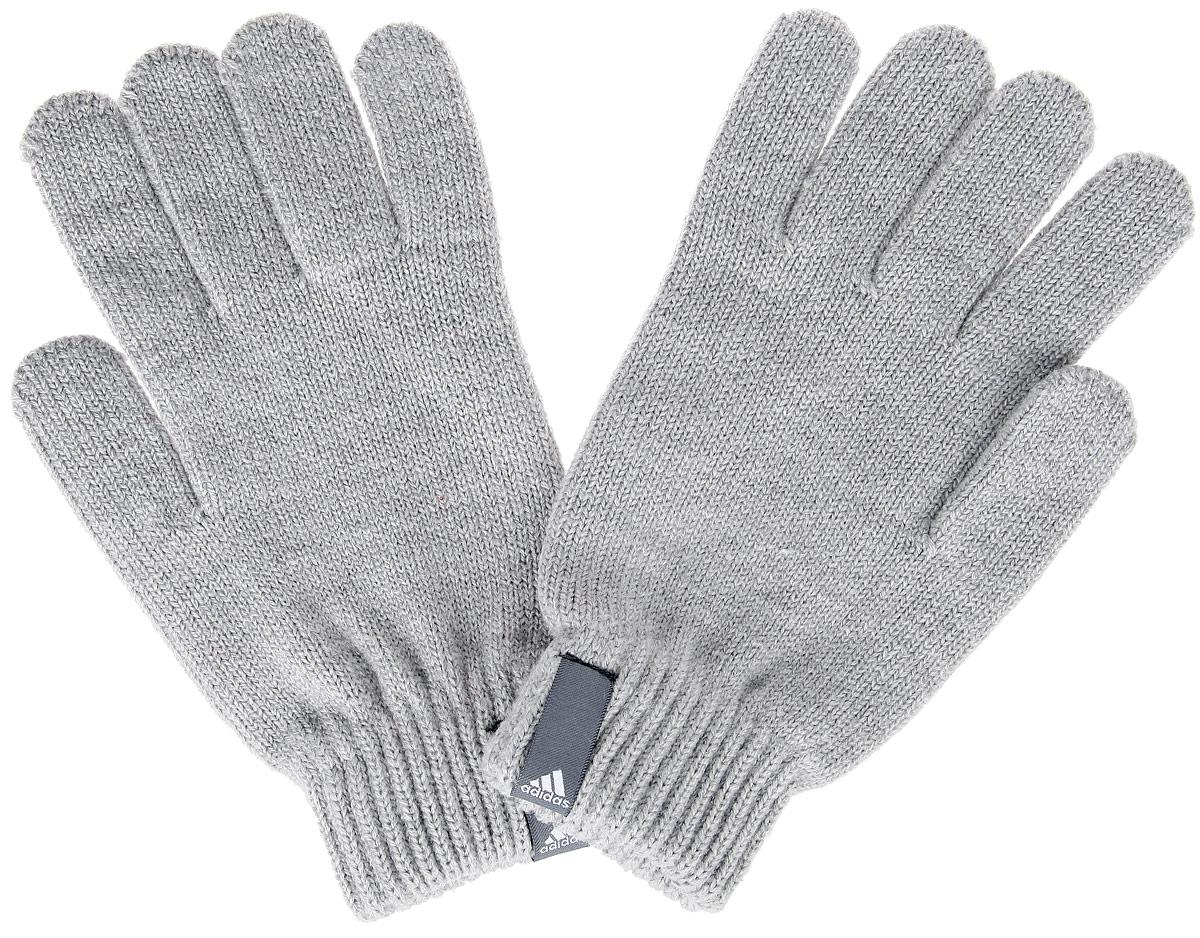 Перчатки Performance. AB03AB0346Теплые вязаные Adidas Performance станут великолепным дополнением вашего образа и защитят ваши руки от холода и ветра во время прогулок. Перчатки, выполненные из акрила, полиэстера и эластана, надежно сохраняют тепло и обеспечивают удобство и комфорт при носке. Такие перчатки будут оригинальным завершающим штрихом в создании современного модного образа, они подчеркнут ваш изысканный вкус и станут незаменимым и практичным аксессуаром.