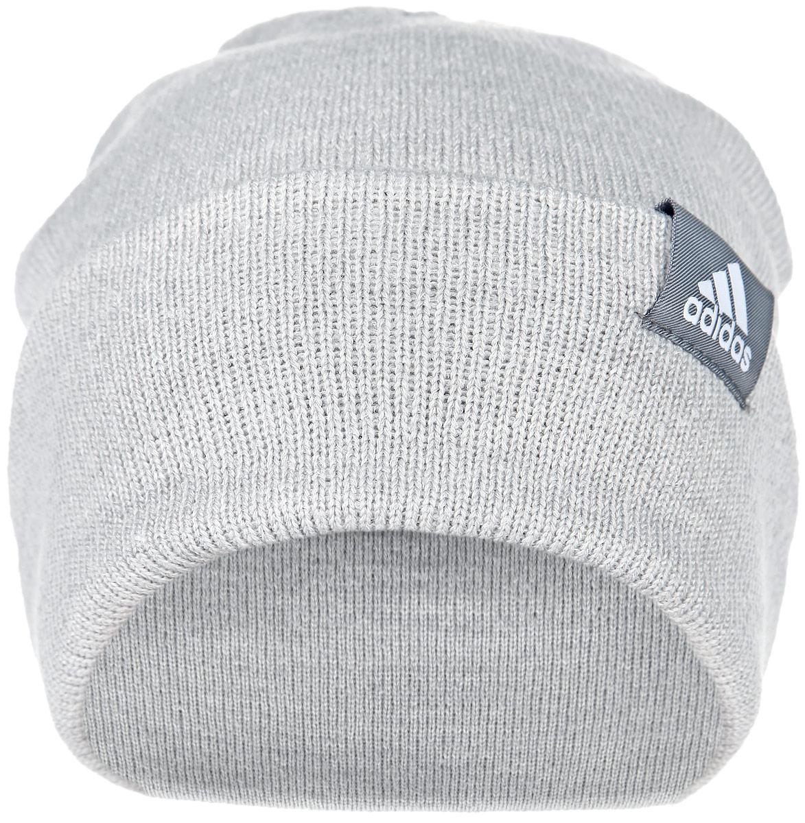 Шапка Performance. AB03AB0349Шапка Adidas Performance отлично подойдет для повседневной носки в прохладную погоду. Шапка выполнена из высококачественного акрила, что позволяет ей максимально сохранять тепло и обеспечивает идеальную посадку. Модель выполнена с отворотом. Такая шапка станет модным дополнением к вашему гардеробу. Она подарит вам ощущение тепла и комфорта. Уважаемые клиенты! Размер, доступный для заказа, является обхватом головы.