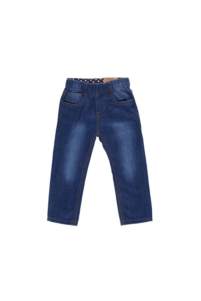 Джинсы для девочки. 195204195204Стильные джинсы для девочки Sweet Berry Baby идеально подойдут юной моднице для отдыха и прогулок. Изготовленные из эластичного хлопка, они мягкие и приятные на ощупь, не сковывают движения и позволяют коже дышать, обеспечивая наибольший комфорт. Джинсы имеют широкую эластичную резинку на поясе, благодаря чему они не сдавливают животик ребенка и не сползают. Имеются шлевки для ремня. Модель имеет классический пятикарманный крой: спереди - два втачных кармана и один маленький накладной, сзади - два накладных кармана. Оформлено изделие контрастной отстрочкой. Современный дизайн и расцветка делают эти джинсы модным предметом детской одежды. В них ребенок всегда будет в центре внимания! В комплект входит текстильный поясок контрастного цвета.