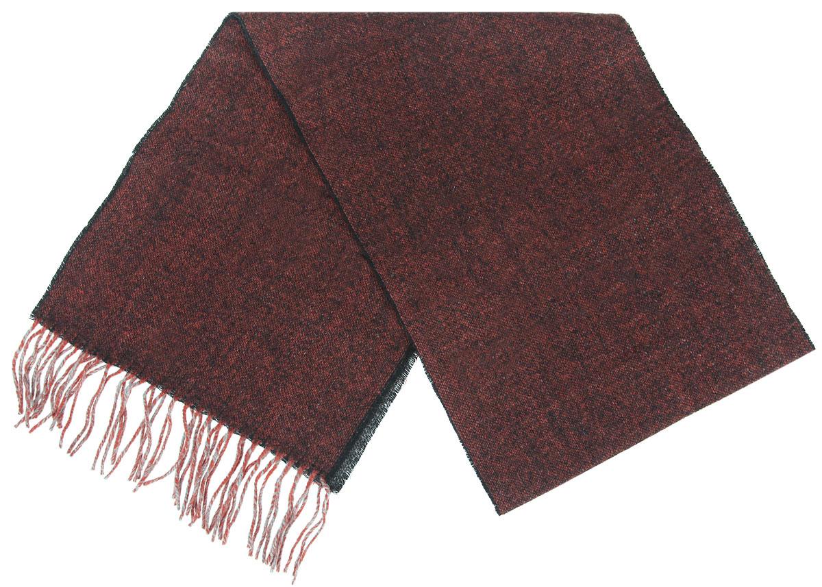 Шарф30-40 М1Элегантный мужской шарф Flioraj согреет вас в холодное время года, а также станет изысканным аксессуаром, который призван подчеркнуть ваш стиль и индивидуальность. Теплый, мягкий, приятный на ощупь шарф не продувается и великолепно сохраняет тепло. Оригинальный и стильный шарф выполнен из высококачественной 100% мериносовой шерсти. Однотонный шарф украшен бахромой в виде жгутиков по краям. Такой шарф станет превосходным дополнением к любому наряду, защитит вас от ветра и холода и позволит вам создать свой неповторимый стиль