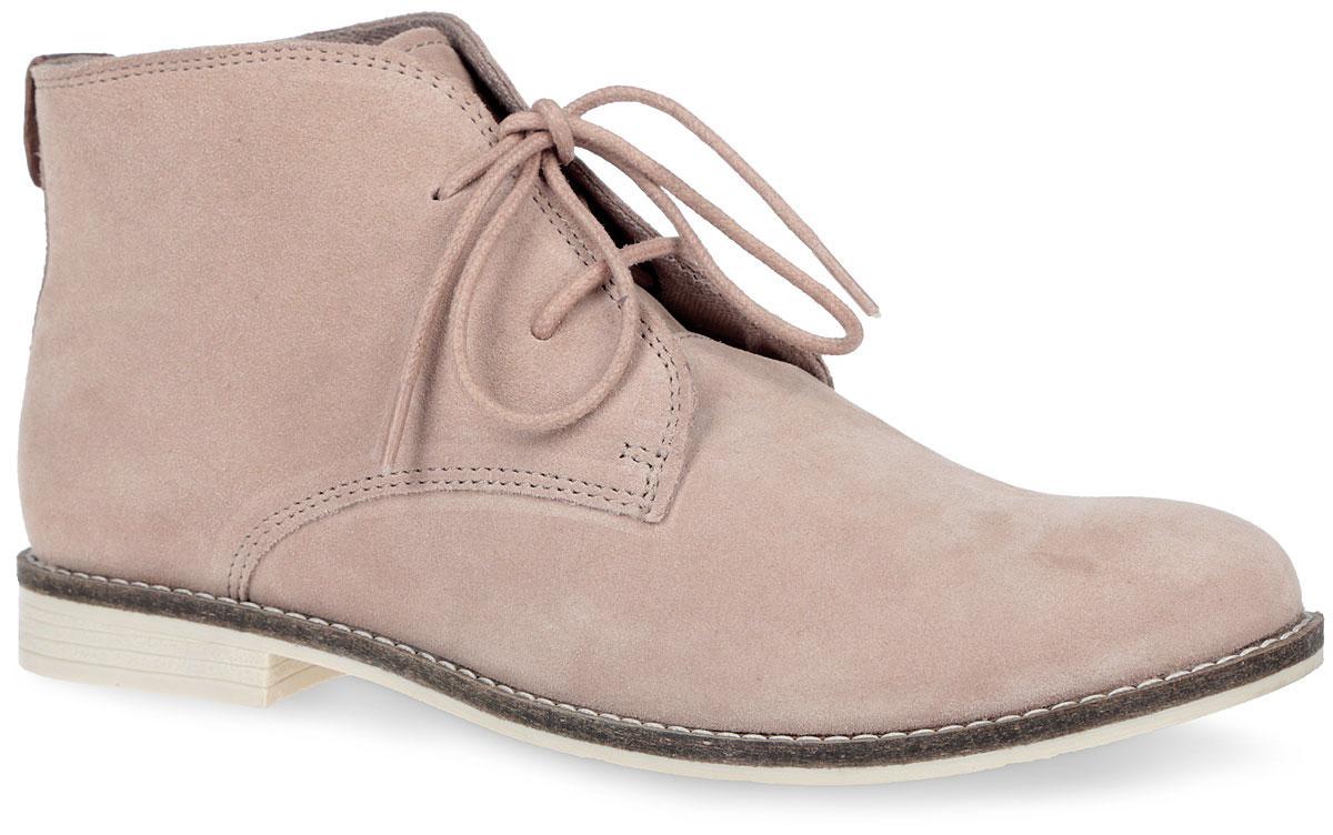 5-5-25100-36-250Модные женские ботинки от S.Oliver заинтересуют вас своим дизайном. Модель, выполненная из натуральной кожи, оформлена на языке фирменной нашивкой, вдоль ранта - контрастной прострочкой. Подкладка и мягкая стелька из текстиля комфортны при движении. Шнуровка прочно фиксирует обувь на вашей ноге. Устойчивый каблук и подошва с рифлением гарантируют идеальное сцепление с любой поверхностью. Стильные ботинки прекрасно впишутся в ваш гардероб.