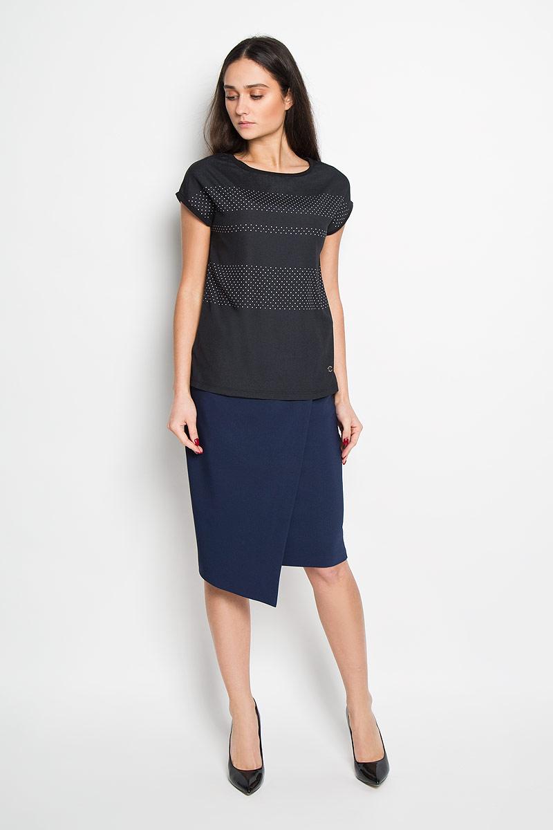 БлузкаSPO2675CAСтильная женская блуза Top Secret, выполненная из полиэстера и хлопка, подчеркнет ваш уникальный стиль и поможет создать оригинальный женственный образ. Блузка с короткими цельнокроеными рукавами и круглым вырезом горловины подойдет к любому наряду. Модель украшена принтом в мелкий горох. Такая блузка идеально подойдет для жарких летних дней. Такая блузка будет дарить вам комфорт в течение всего дня и послужит замечательным дополнением к вашему гардеробу.