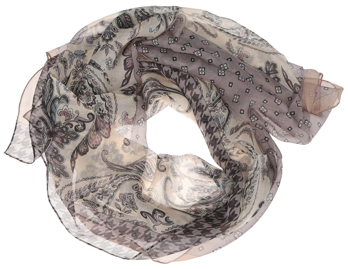 Шарф женский. CX1516-57CX1516-57-4Стильный женский шарф Fabretti станет великолепным завершением любого наряда. Шарф изготовлен из шелка и оформлен изысканным орнаментом. Края шарфа обработаны ручным швом. Мягкий и шелковистый шарф поможет вам создать изысканный женственный образ, а также согреет в непогоду. Такой шарф превосходно дополнит любой наряд и подчеркнет ваш неповторимый вкус и элегантность.