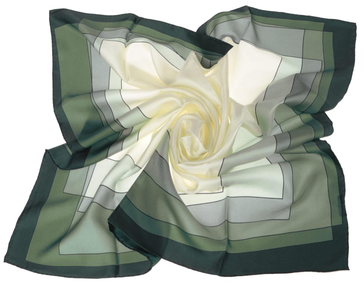 ПлатокCX1516-47-4Стильный женский платок Fabretti станет великолепным завершением любого наряда. Платок изготовлен из высококачественного шелка и оформлен принтом с изображением оригинального цветового градиента. Классическая квадратная форма позволяет носить платок на шее, украшать им прическу или декорировать сумочку. Мягкий и шелковистый платок поможет вам создать изысканный женственный образ, а также согреет в непогоду. Такой платок превосходно дополнит любой наряд и подчеркнет ваш неповторимый вкус и элегантность.