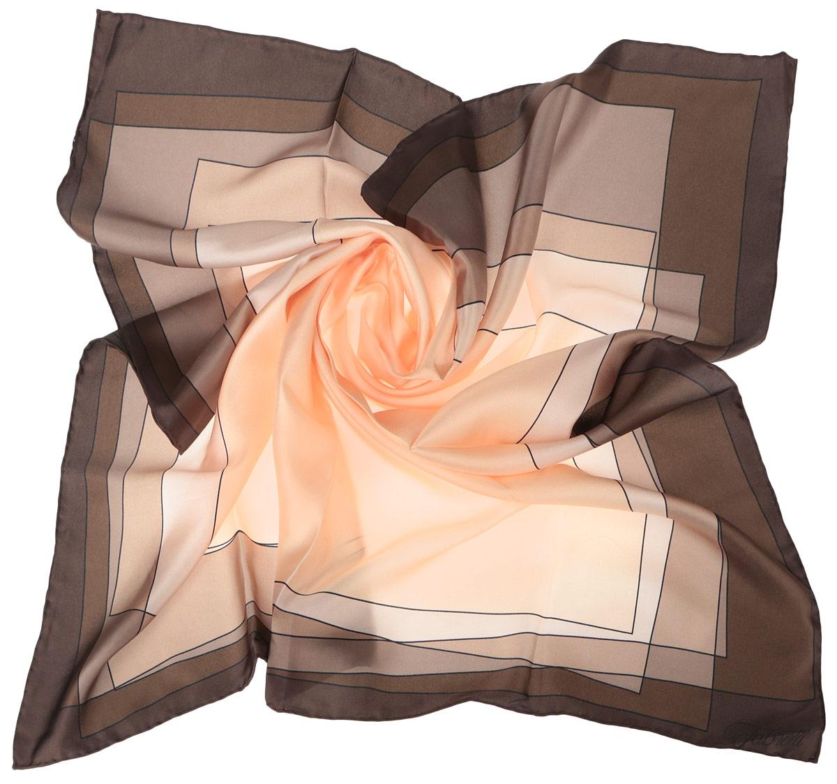 Платок женский. CX1516-47CX1516-47-4Стильный женский платок Fabretti станет великолепным завершением любого наряда. Платок изготовлен из высококачественного шелка и оформлен принтом с изображением оригинального цветового градиента. Классическая квадратная форма позволяет носить платок на шее, украшать им прическу или декорировать сумочку. Мягкий и шелковистый платок поможет вам создать изысканный женственный образ, а также согреет в непогоду. Такой платок превосходно дополнит любой наряд и подчеркнет ваш неповторимый вкус и элегантность.